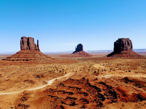 Monument Valley Navajo Tribal Park, UTAH, Spojené státy americké