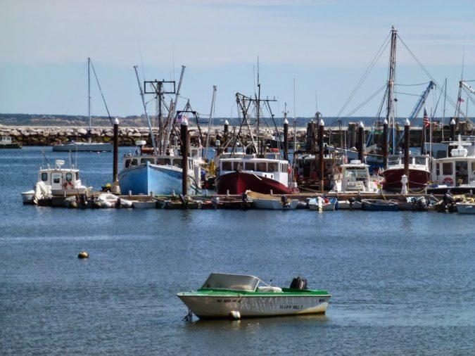 USA, Massachusetts, Provincetown překrásné městečko...
